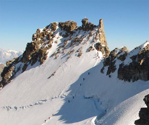 Gran Paradiso 4061 m.s.m — Proposta alpinistica