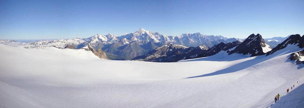 Testa del Rutor 3486 m.s.m — Proposta alpinistica